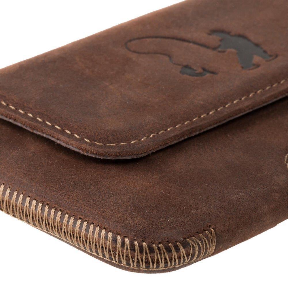 Belt case - Nut brown - Fisherman