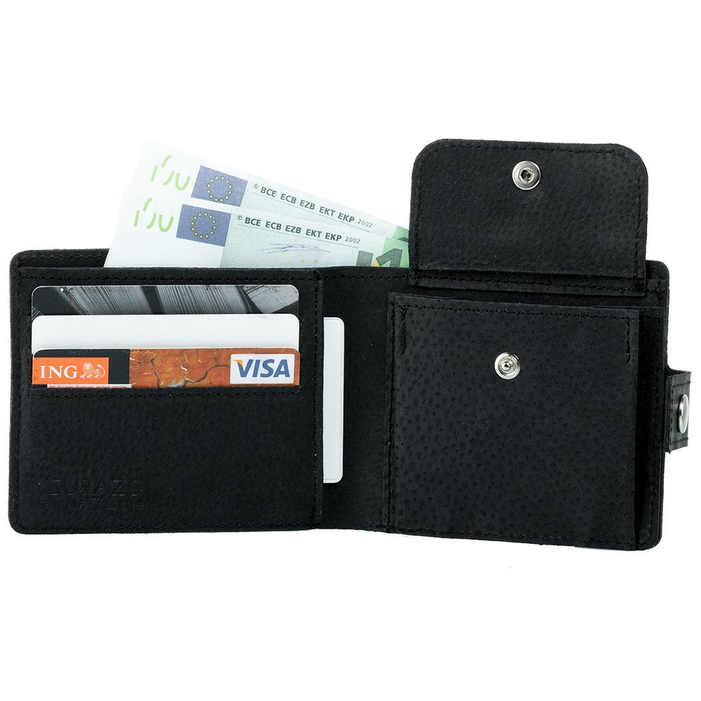 Classic wallet with card slot - Costa Black