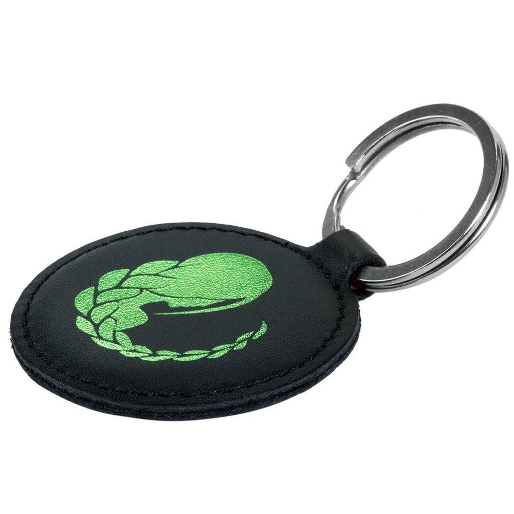 Keychain - Costa Black - Green Virgo