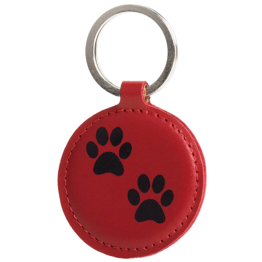 Keychain - Costa Red - Two Paws Black