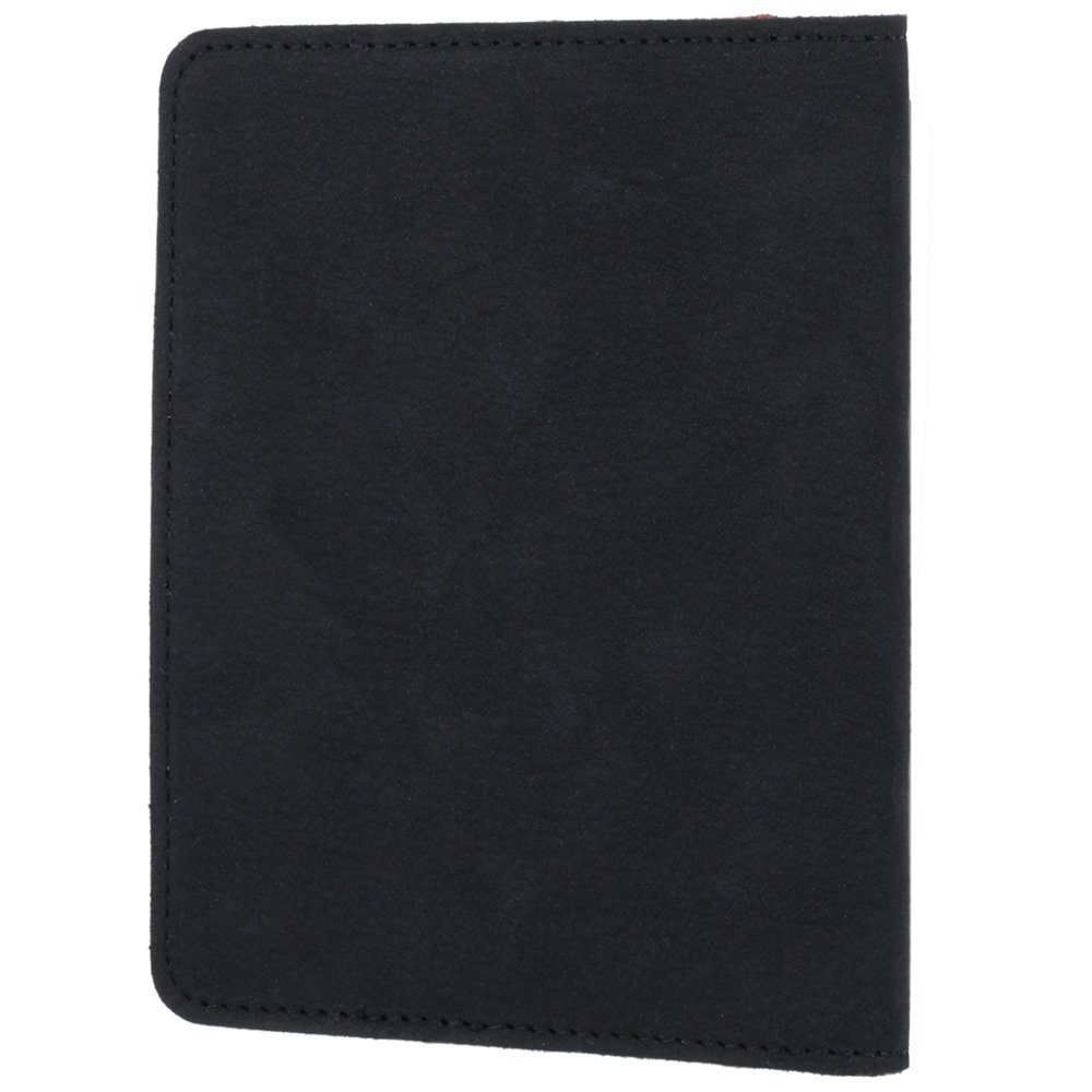 Slim Bifold Wallet RFID - Nubuck Black