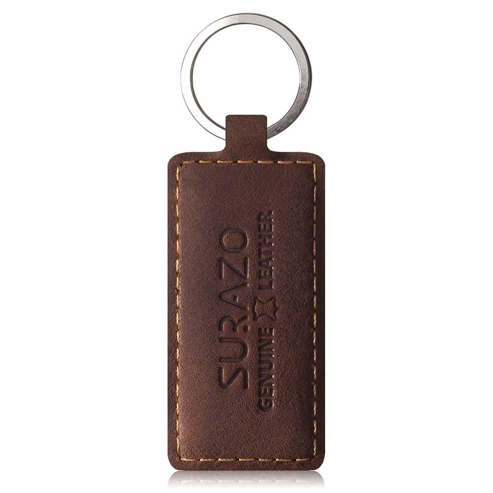Slim cover - Nubuck Nut brown