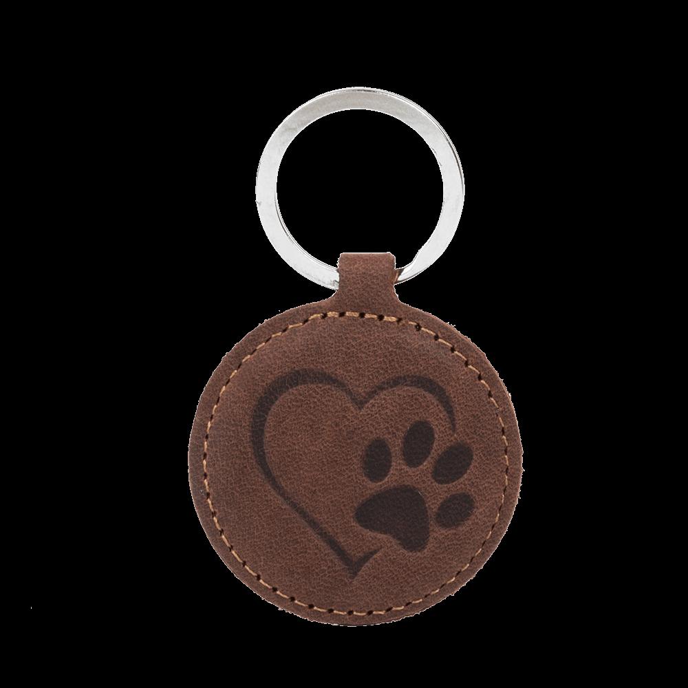 Smart magnet RFID - Nut Brown - Paw in Heart