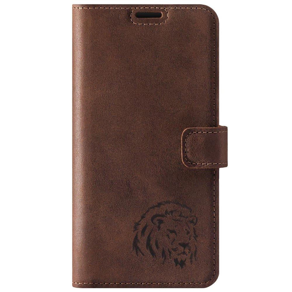 Wallet case - Nut Brown - Lion