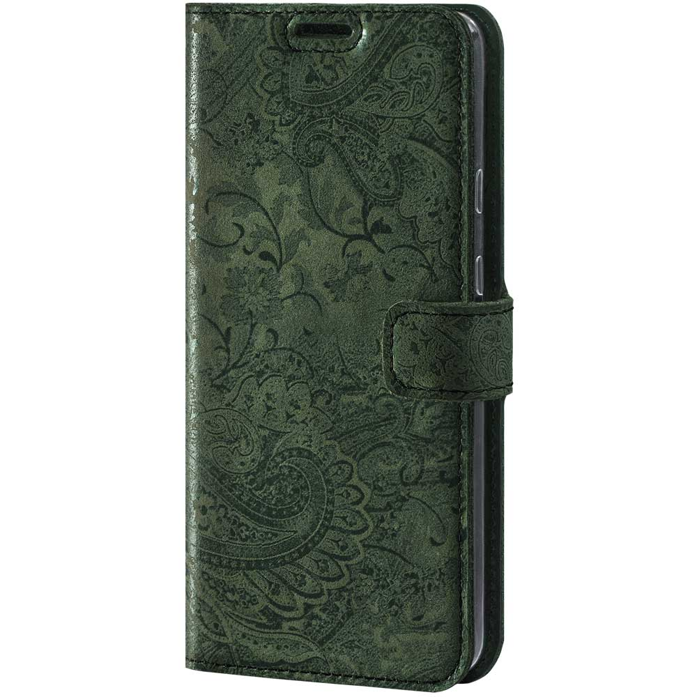 Wallet case - Ornament Green