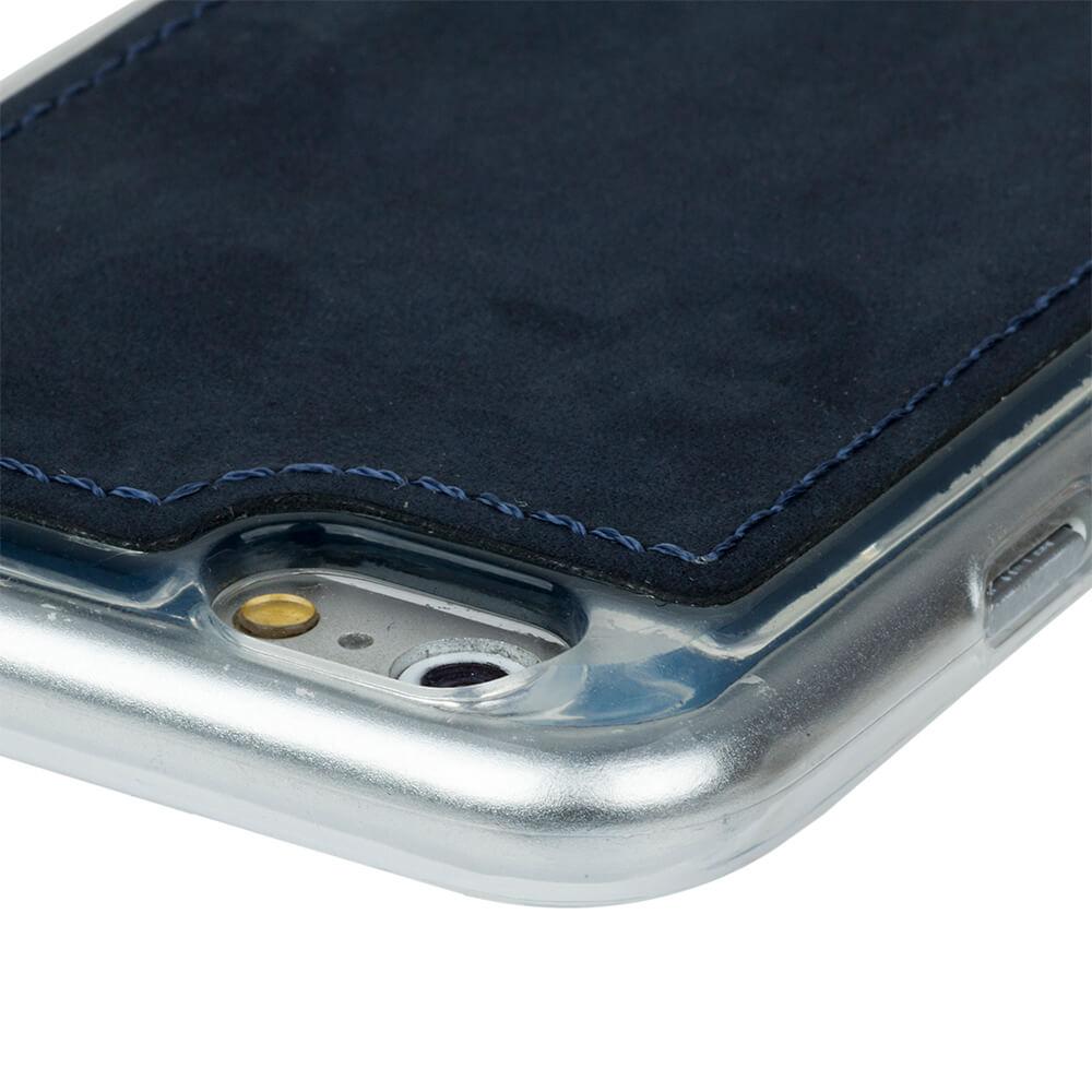 Back case - Nubuk Granatowy