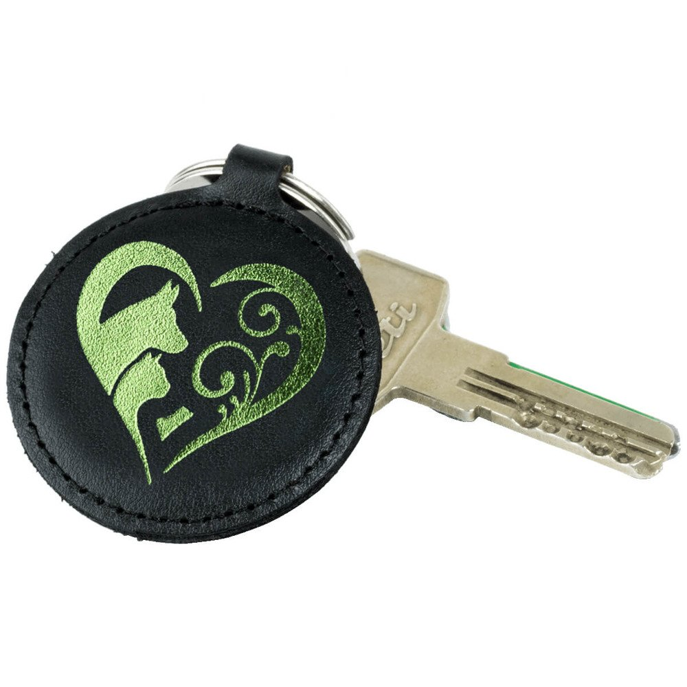 Brelok na klucze - Costa Czarna - Animal Love Zielony