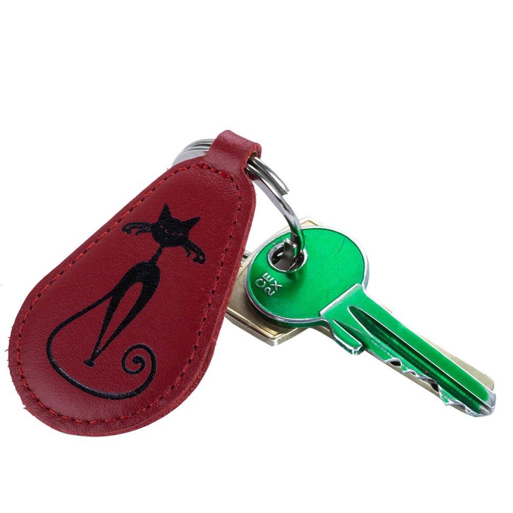 Brelok na klucze - Costa Czerwona - Czarny Bajeczny Kot