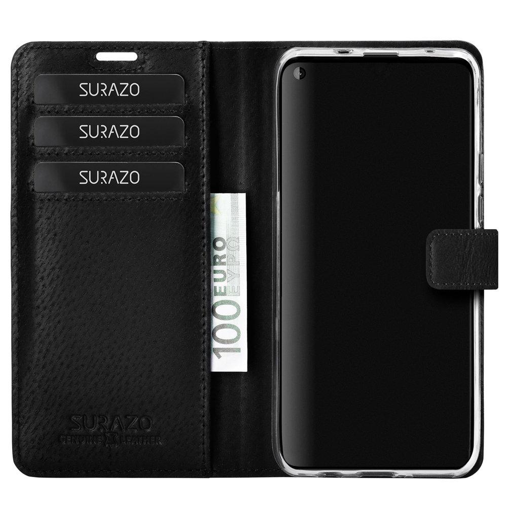 Wallet case - Nubuk Czarny i Pantera